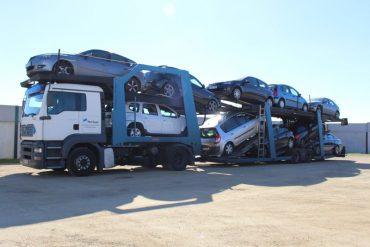 Transporte de vehículos nuevos y usados.