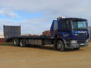 Transporte de máquinaria.